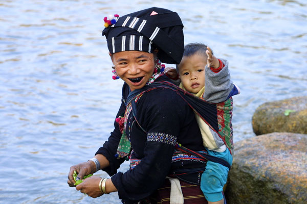 Lu Tribes in Vietnam