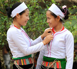 Muong people in Vietnam