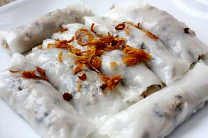 Steamed Fresh Rice Flour Rolls