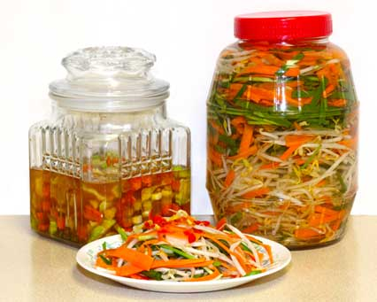 Pickled Bean Sprouts