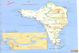 Map of Phu Quoc Island