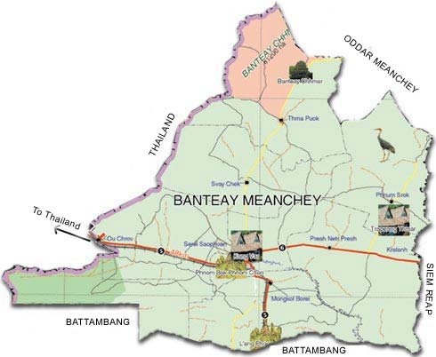 Banteay_meanchey_map