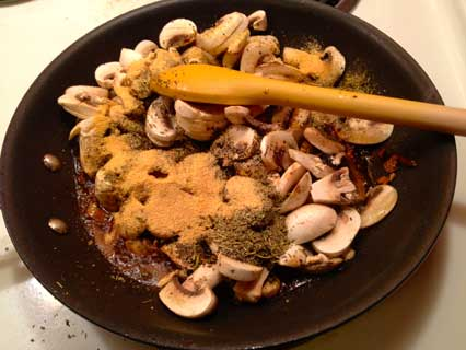 Braised Mushrooms with Soy Sauce